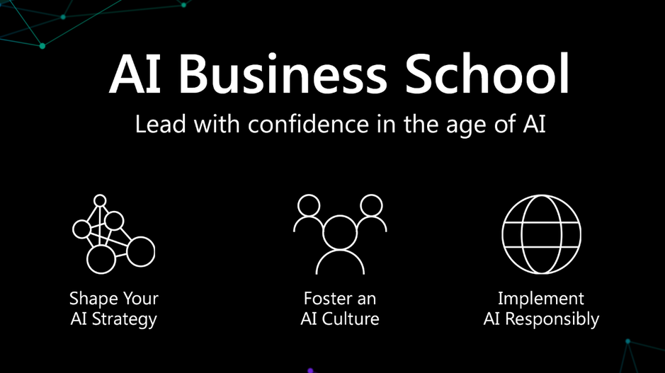 Announcing AI Business School for Education