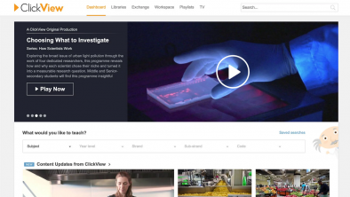 ClickView integration with Teams delivers video power to teachers' fingertips